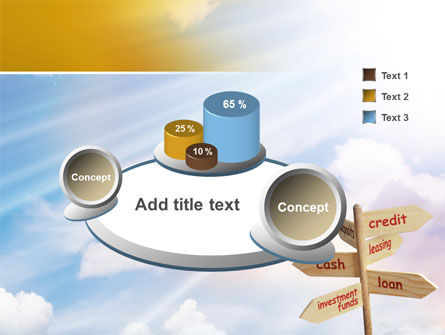 Credits and Loans PowerPoint Template Slide 6