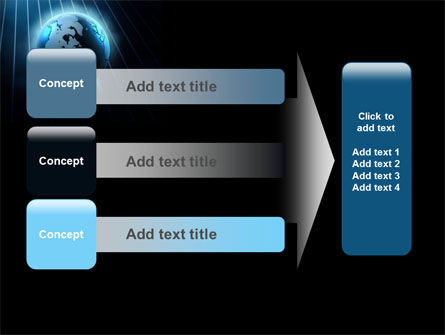 World Spotlight PowerPoint Template Slide 12