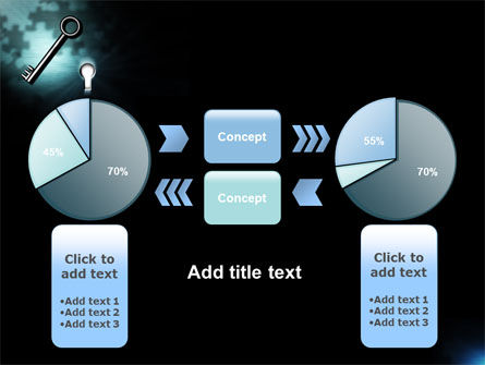 Key and Keyhole PowerPoint Template Slide 11
