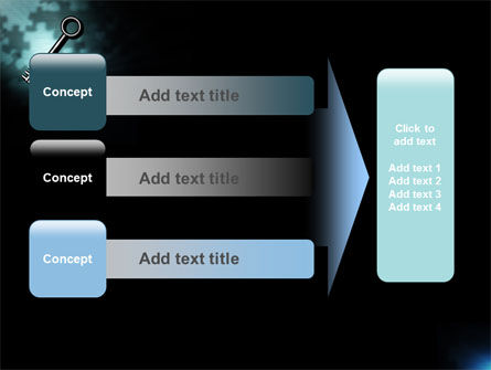 Key and Keyhole PowerPoint Template Slide 12