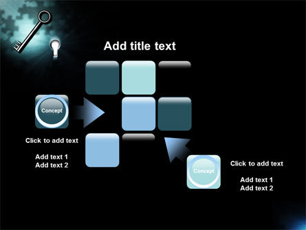 Key and Keyhole PowerPoint Template Slide 16