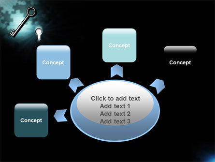 Key and Keyhole PowerPoint Template Slide 7