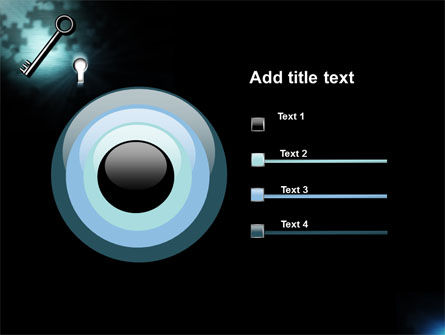 Key and Keyhole PowerPoint Template Slide 9