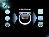 Key and Keyhole PowerPoint Template#17