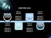 Key and Keyhole PowerPoint Template#19
