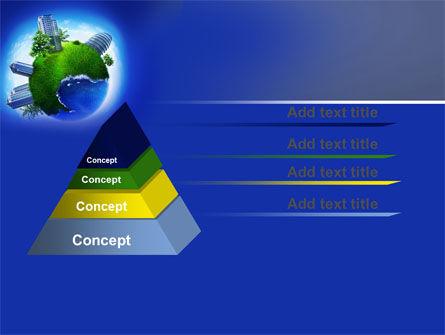 Big City Building PowerPoint Template, Slide 4, 07288, Nature & Environment — PoweredTemplate.com