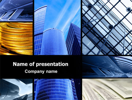 Bright Pictures Of Business Center PowerPoint Template