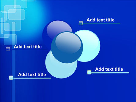 Aqua Blue Theme PowerPoint Template Slide 10