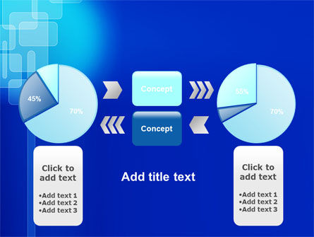 Aqua Blue Theme PowerPoint Template Slide 11