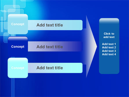 Aqua Blue Theme PowerPoint Template Slide 12