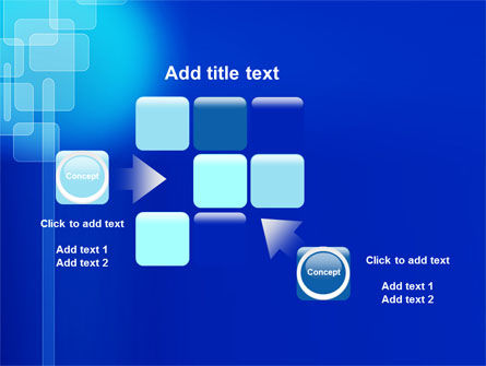 Aqua Blue Theme PowerPoint Template Slide 16