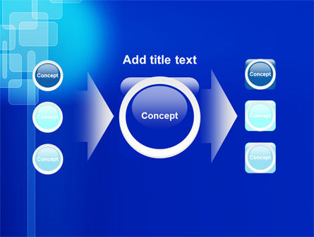 Aqua Blue Theme PowerPoint Template Slide 17