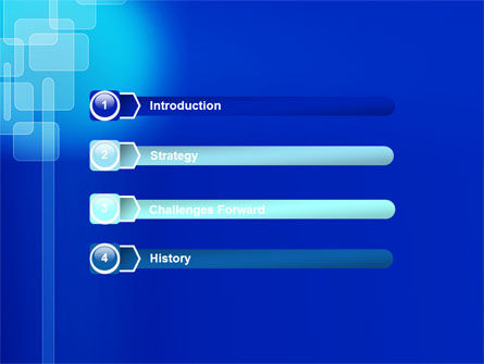 Aqua Blue Theme PowerPoint Template, Slide 3, 07292, Abstract/Textures — PoweredTemplate.com