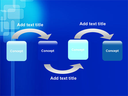 Aqua Blue Theme PowerPoint Template Slide 4