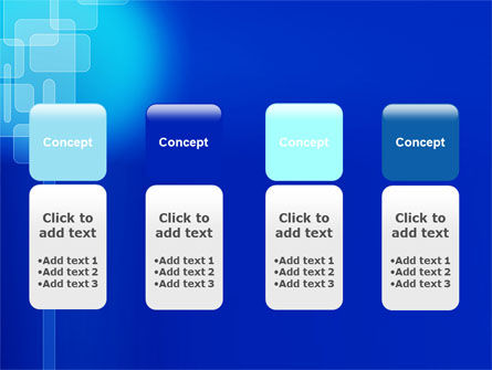 Aqua Blue Theme PowerPoint Template Slide 5