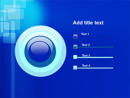 Aqua Blue Theme PowerPoint Template Slide 9