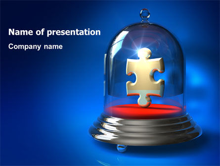 Protected Puzzle PowerPoint Template