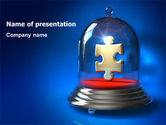 Business Concepts: Protected Puzzle PowerPoint Template #07293