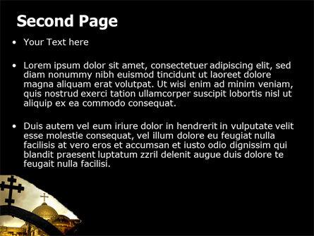 Byzantine Church PowerPoint Template, Slide 2, 07296, Religious/Spiritual — PoweredTemplate.com