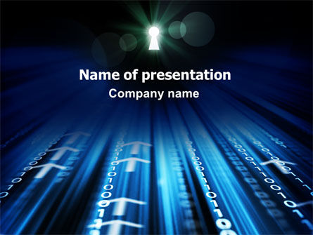 Internet Targeting PowerPoint Template, 07297, Technology and Science — PoweredTemplate.com