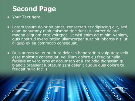 Internet Targeting PowerPoint Template, Slide 2, 07297, Technology and Science — PoweredTemplate.com