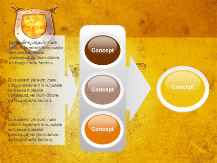 Shield And Swords PowerPoint Template Slide 11