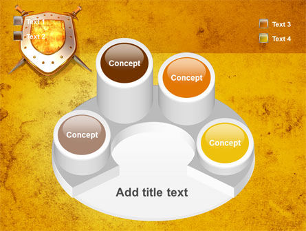 Shield And Swords PowerPoint Template Slide 12