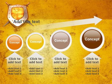 Shield And Swords PowerPoint Template Slide 13