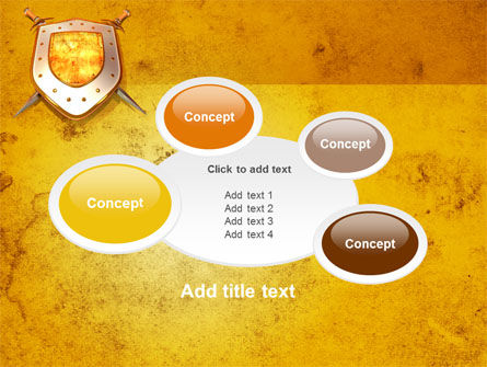 Shield And Swords PowerPoint Template Slide 16