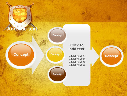 Shield And Swords PowerPoint Template Slide 17