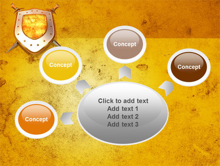 Shield And Swords PowerPoint Template Slide 7