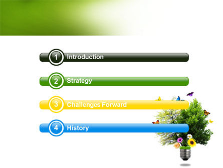 Alternative Green Energy PowerPoint Template, Slide 3, 07299, Technology and Science — PoweredTemplate.com