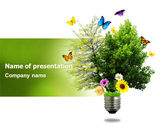 Technology and Science: Modelo do PowerPoint - energia verde alternativa #07299