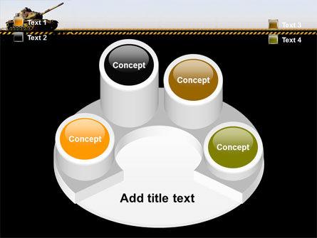 Tank PowerPoint Template Slide 12