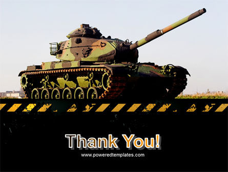 Tank PowerPoint Template Slide 20