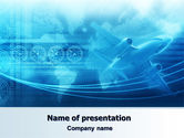 Cars and Transportation: Air Communication PowerPoint Template #07302
