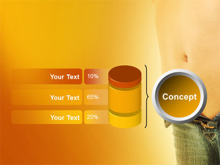 Slim Waist PowerPoint Template Slide 11