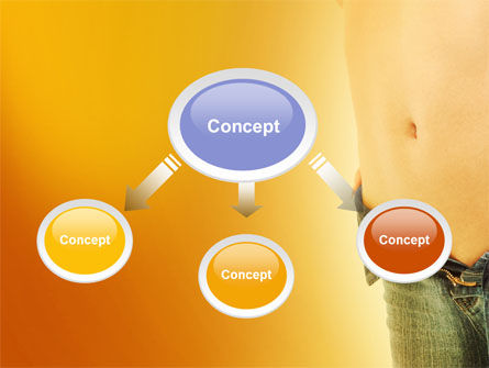 Slim Waist PowerPoint Template Slide 4