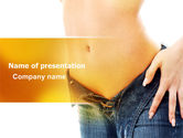 Careers/Industry: Slim Waist PowerPoint Template #07303