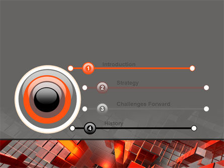 Heat Up Rates PowerPoint Template, Slide 3, 07304, Abstract/Textures — PoweredTemplate.com