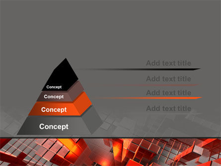 Heat Up Rates PowerPoint Template, Slide 4, 07304, Abstract/Textures — PoweredTemplate.com
