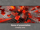 Abstract/Textures: Heat Up Rates PowerPoint Template #07304