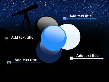 Stars Observation PowerPoint Template Slide 10