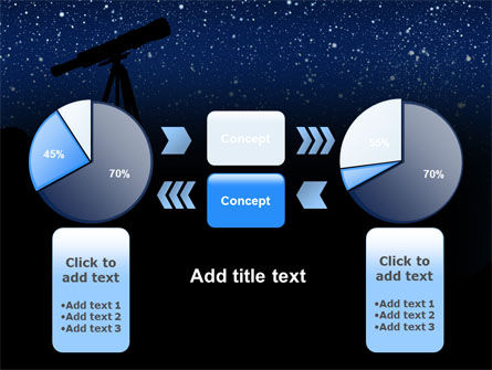 Stars Observation PowerPoint Template Slide 11