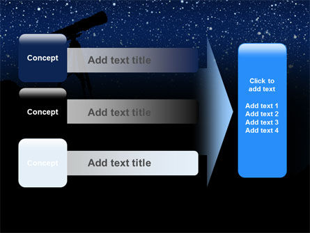 Stars Observation PowerPoint Template Slide 12
