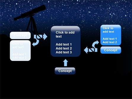 Stars Observation PowerPoint Template Slide 13