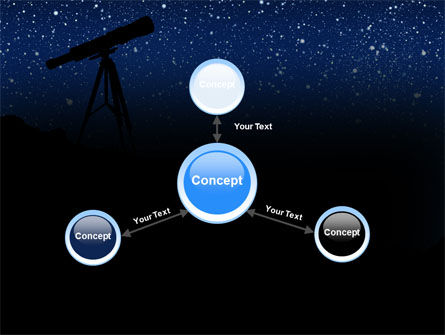 Stars Observation PowerPoint Template Slide 14