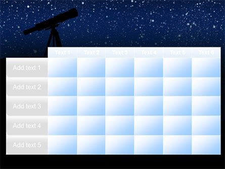 Stars Observation PowerPoint Template Slide 15