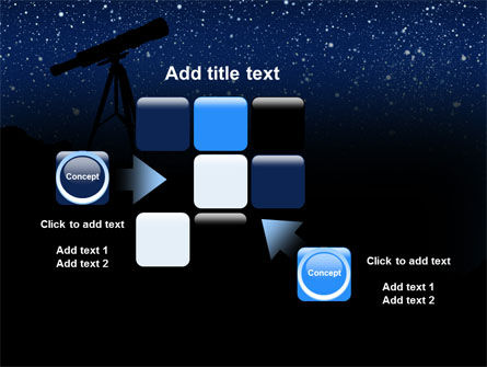 Stars Observation PowerPoint Template Slide 16