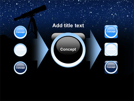 Stars Observation PowerPoint Template Slide 17